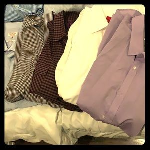 5 men's dress shirts